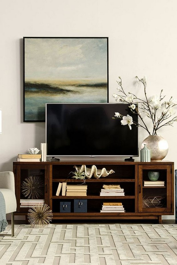 10 modern tv console tables on pinterest - Moderne consoles ...