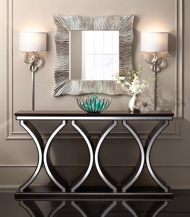 console table designs console table designs Perfect match: mirrors and console table designs 2 Perfect match mirrors and console table designs