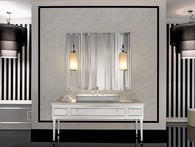 master bathroom master bathroom Modern Console Tables for a Luxury Master Bathroom 3 Classic