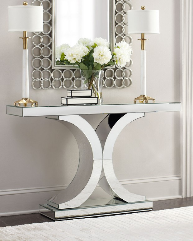 console table designs console table designs Perfect match: mirrors and console table designs 3 Perfect match mirrors and console table designs Glance and newton