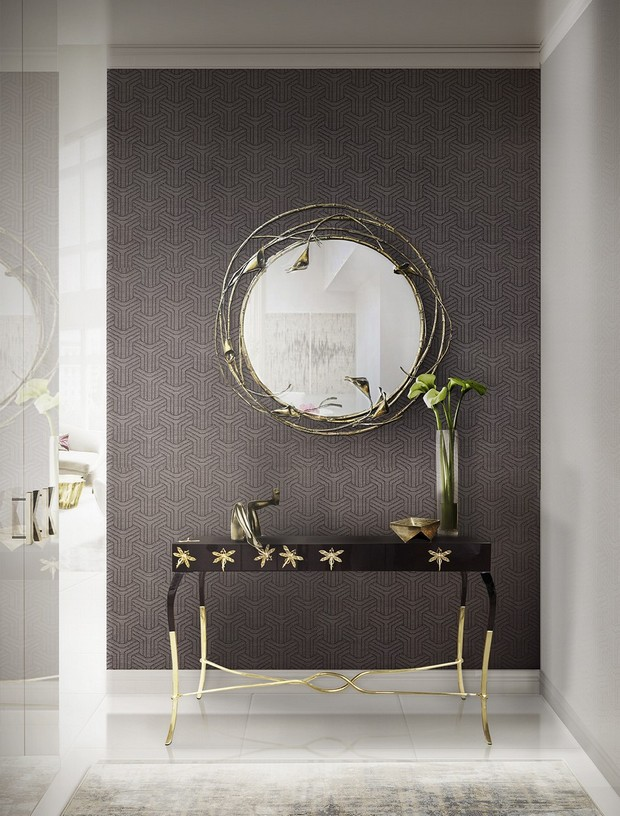 console table designs console table designs Perfect match: mirrors and console table designs 5 Perfect match mirrors and console table designs kayan ans kay
