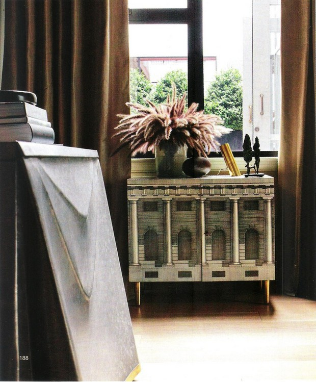 console tables Steven Volpe Luxury Interior Design with Console Tables 5 steven volpe home
