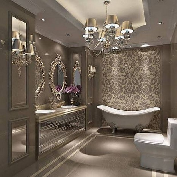 master bathroom master bathroom Modern Console Tables for a Luxury Master Bathroom 6a749da5cc240cde920656ac0005d4a6 luxurious bathrooms master baths bathroom master luxury