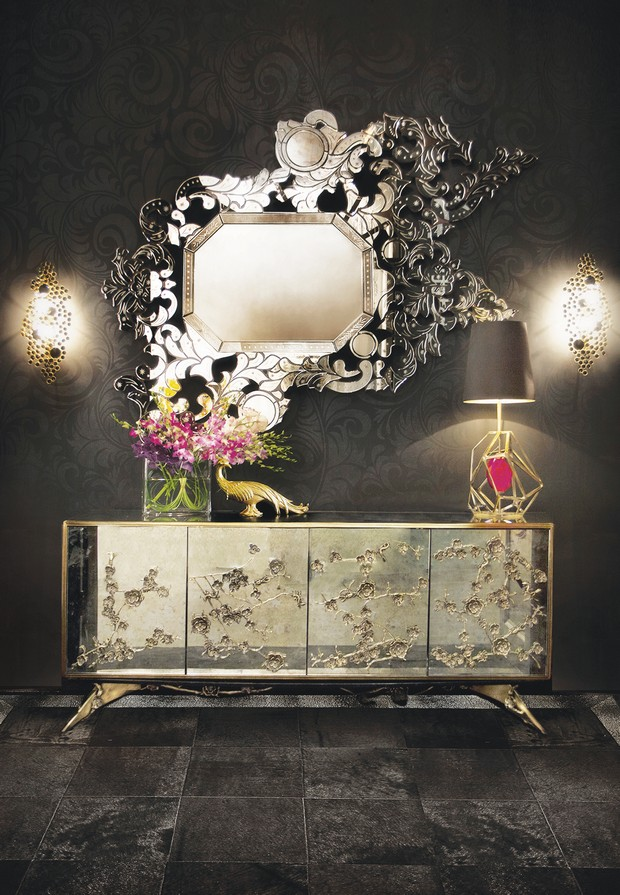 console table designs console table designs Perfect match: mirrors and console table designs 7 Perfect match mirrors and console table designs louis XVI and monochrome