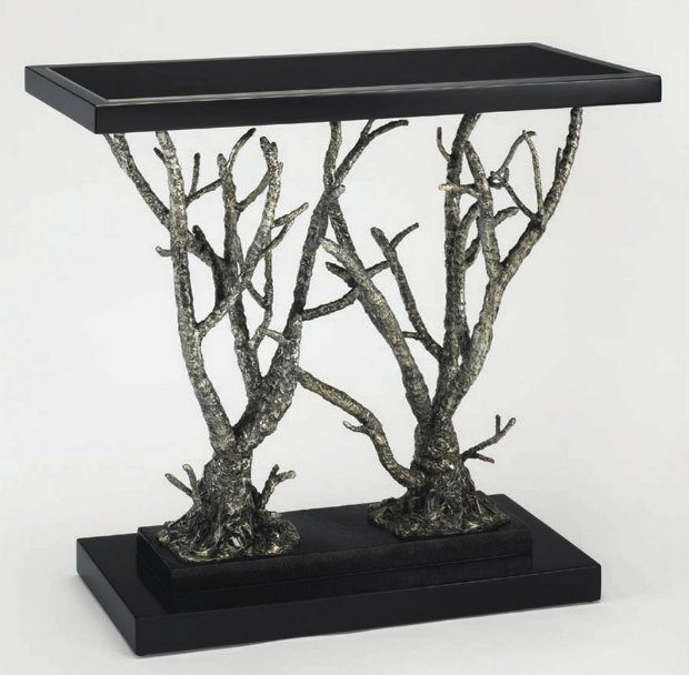modern console tables Tree-Inspired Modern Console Tables 8 leane console table 1