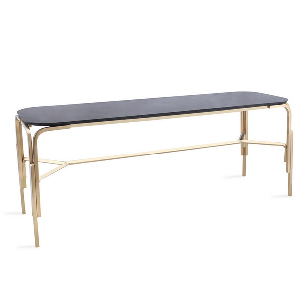 100% design Modern Console Tables to Watch at 100% Design Cambay Console ipse ipsa ipsum