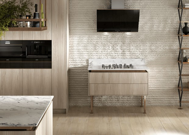 100% design 100% design Modern Console Tables to Watch at 100% Design Dolce Stil Novo range smeg