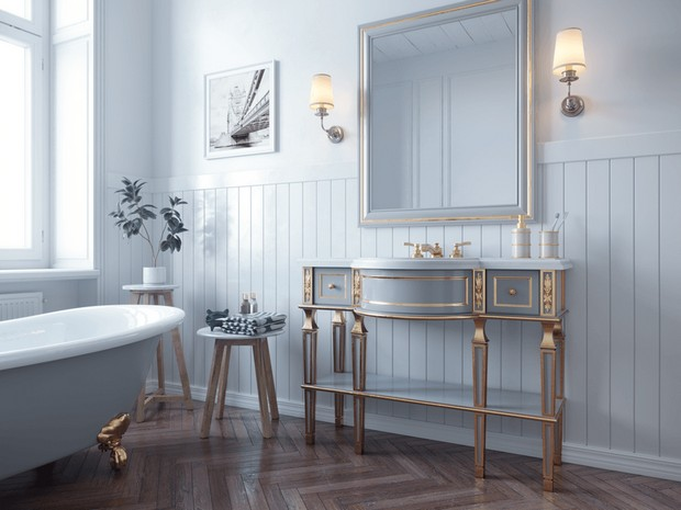 100% design 100% design Modern Console Tables to Watch at 100% Design Eclectic bathroom console table wis london