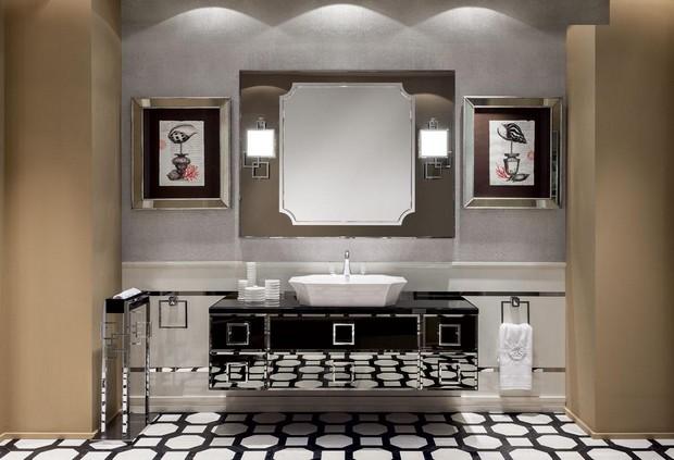 master bathroom Modern Console Tables for a Luxury Master Bathroom Oasis Daphne01