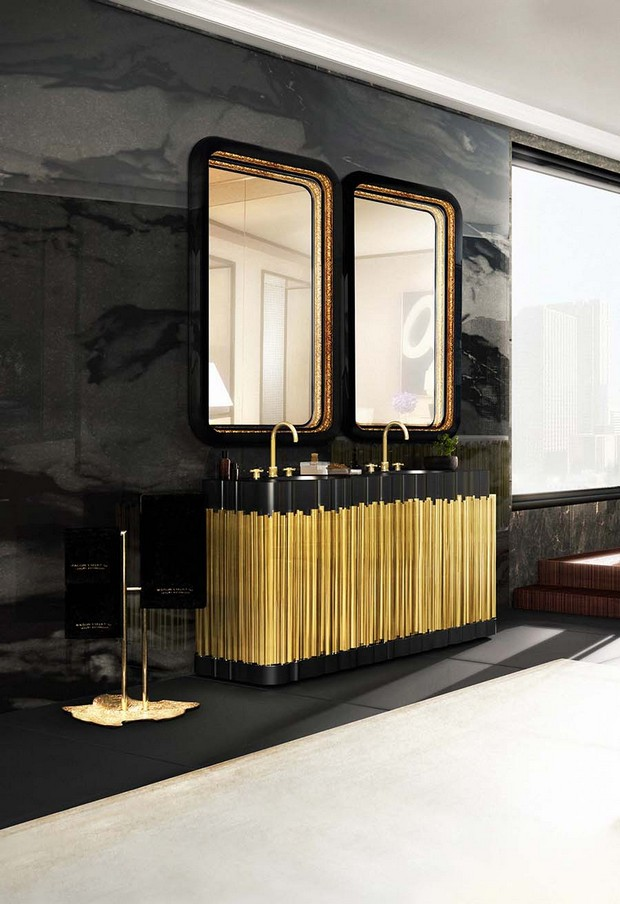 master bathroom master bathroom Modern Console Tables for a Luxury Master Bathroom bathroom maison valentina 10 1