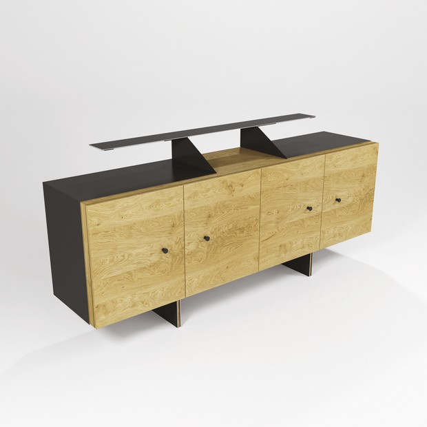 100% design Modern Console Tables to Watch at 100% Design everest by Barel