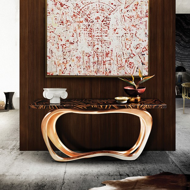 foyer design foyer design 15 Console Tables for a Luxury Foyer Design infinity console