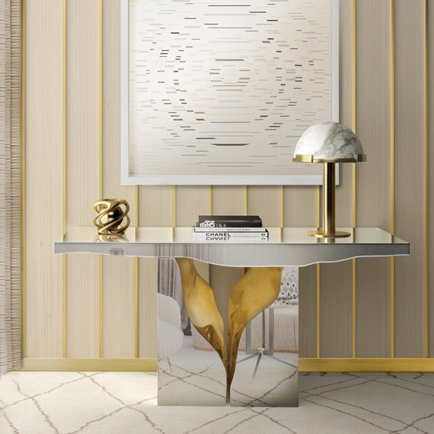foyer design foyer design 15 Console Tables for a Luxury Foyer Design lapiaz console 1