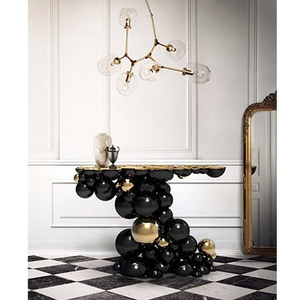 foyer design foyer design 15 Console Tables for a Luxury Foyer Design newton console