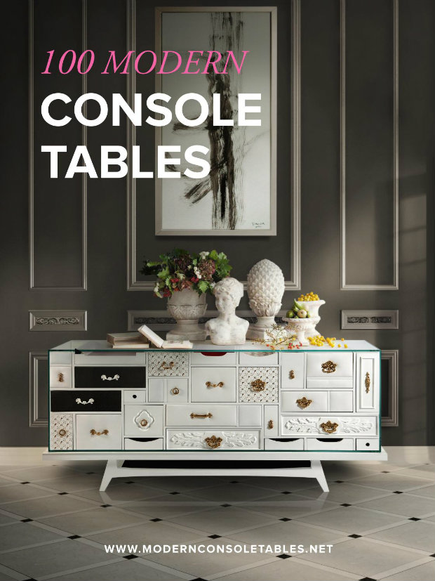 console tables Console Tables Get Inspired with 100 Modern Console Tables Ebook 100 modern console 1