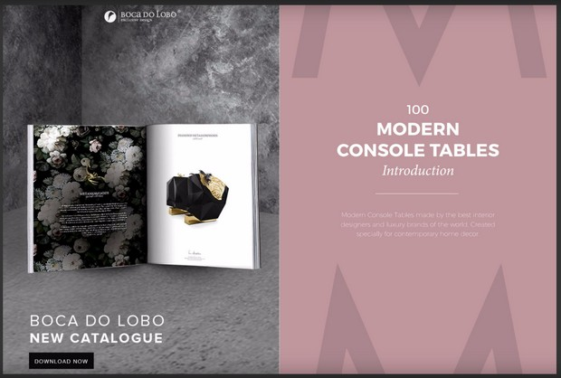 Console Tables Get Inspired with 100 Modern Console Tables Ebook 2