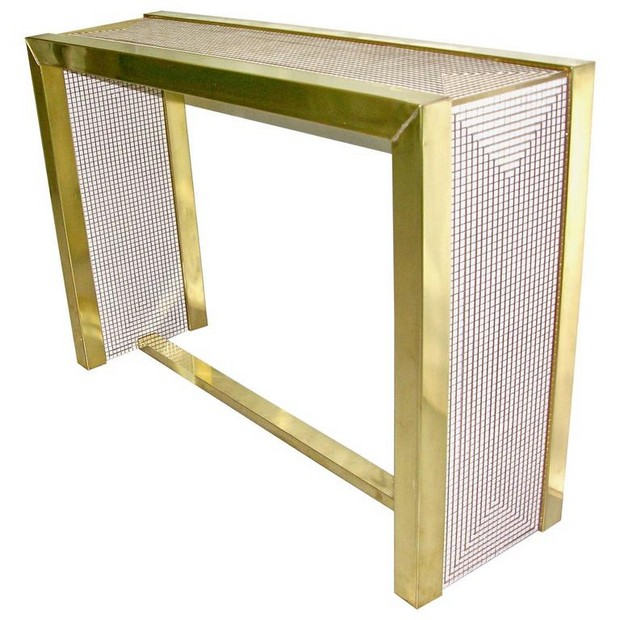 golden console tables 15 Jaw-Droping Golden Console Tables 3 jaw droping Golden Console Tables Brass and white console