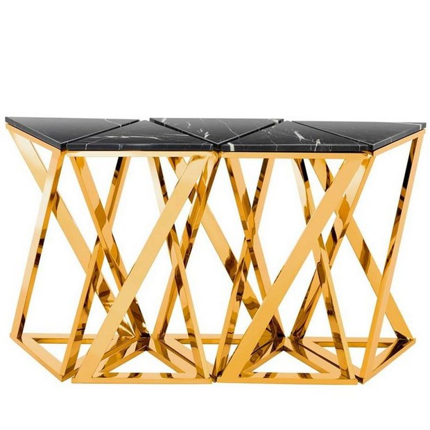 golden console tables 15 Jaw-Droping Golden Console Tables 7 jaw droping Golden Console Tables Ellipse console