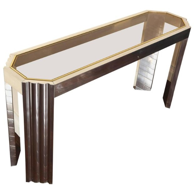 brass finish Editor's Pick: Brass Finish Console Tables Editor   s Pick Brass Finish Console Tables1