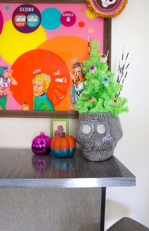 halloween ideas Halloween Ideas with Console Tables! Halloween Ideas with Console Tables3