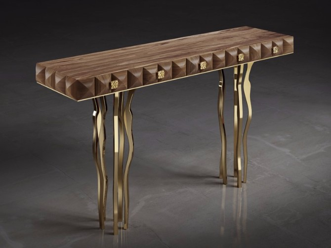 console tables 10 Inspiring Artistic Console Tables Ideas Il Pezzo console