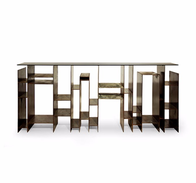 console tables 10 Inspiring Artistic Console Tables Ideas Kyan console