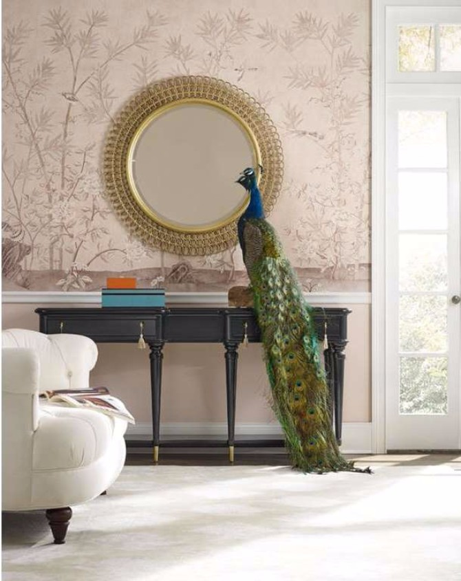 home décor Home Décor Ideas by Hooker Furniture Console Designs Lulu Shaped Console Table 2