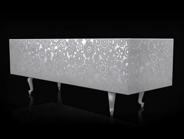 Marcel Wanders The Amazing Console Designs of Marcel Wanders Marcel Wanders unusual furniture white furniture