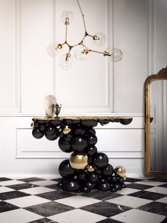10 Inspiring Artistic Console Tables Ideas console tables 10 Inspiring Artistic Console Tables Ideas Newton Console