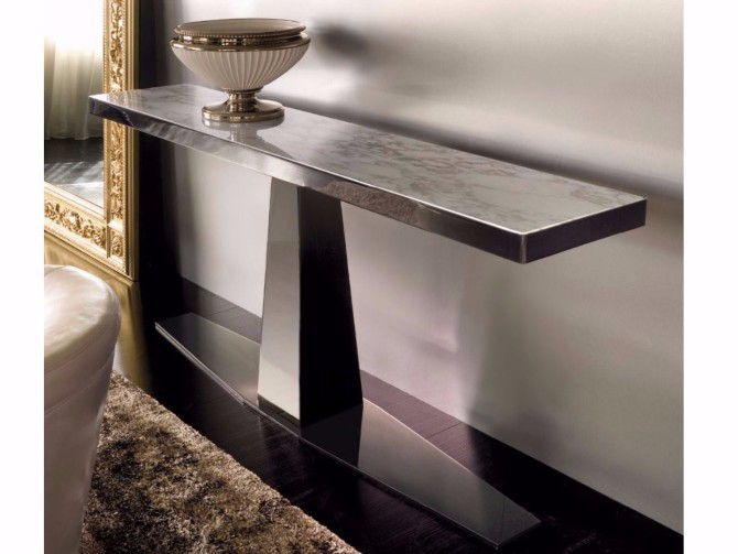 marble console table Top 10 Interior Inspiration Ideas with Marble Console Tables RIM Marble console table Fratelli Longhi 254844 rel16bd79fa