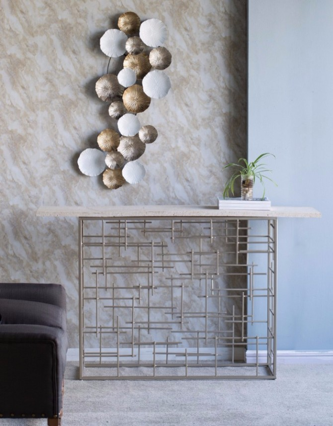 marble console table Top 10 Interior Inspiration Ideas with Marble Console Tables Segments Marble Console