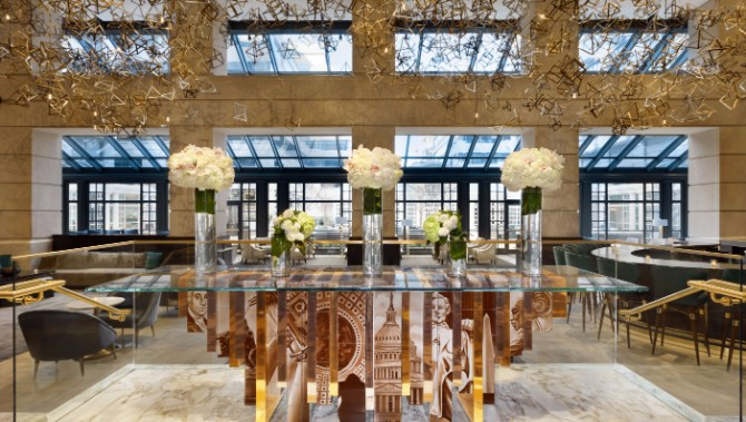 Editor's Choice: Hottest Hotel Lobby Design 2017 hotel lobby design Editor's Choice: Hottest Hotel Lobby Design 2017 fairmont hote