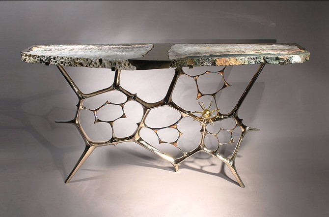 Taylor Llorente Elegant Console Tables llorente Taylor Llorente Elegant Console Tables sculptural console