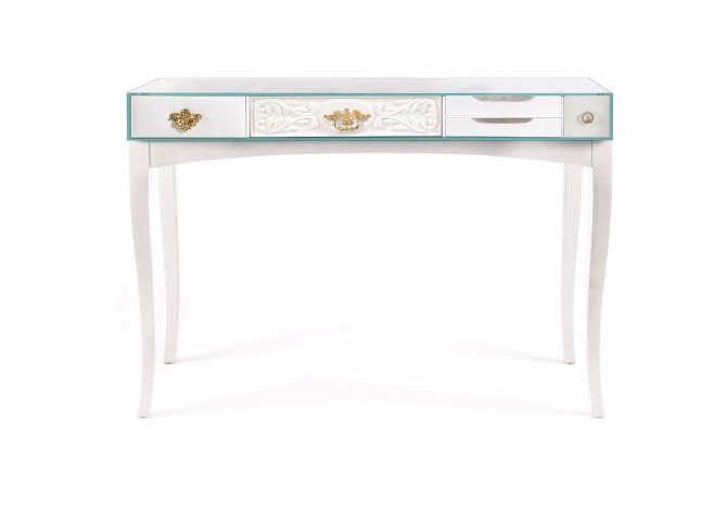 console table The Concept Behind The Soho Console Table soho console white