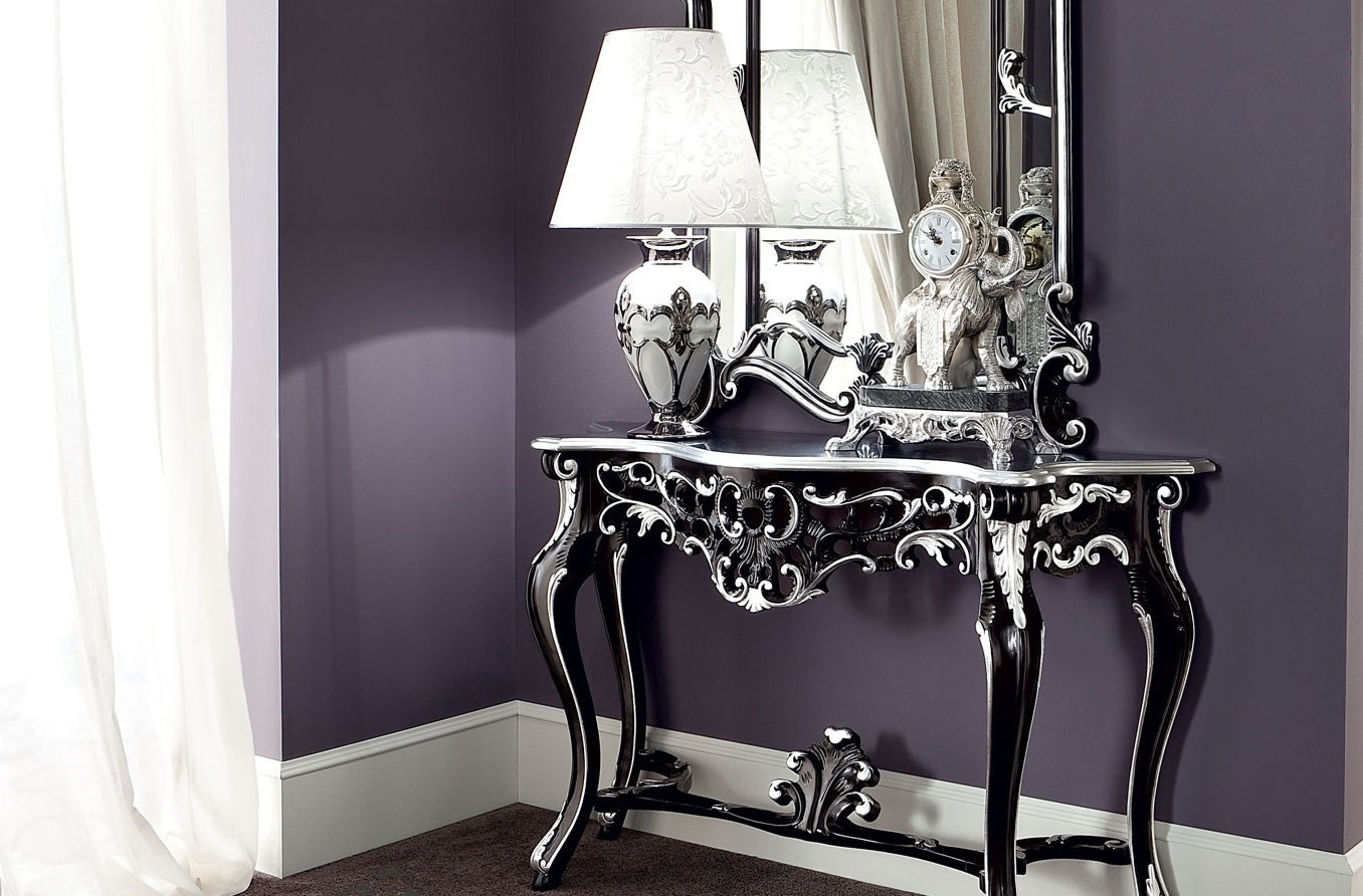 black console table Most Beautiful Black Console Tables You Can Find 10 Most Beautiful Black Console Tables You Can Find