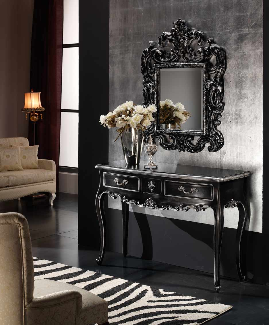 black console table Most Beautiful Black Console Tables You Can Find 4 Most Beautiful Black Console Tables You Can Find