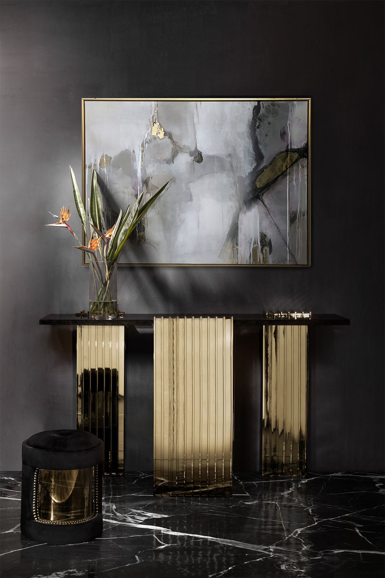 black console table Most Beautiful Black Console Tables You Can Find 6 Most Beautiful Black Console Tables You Can Find