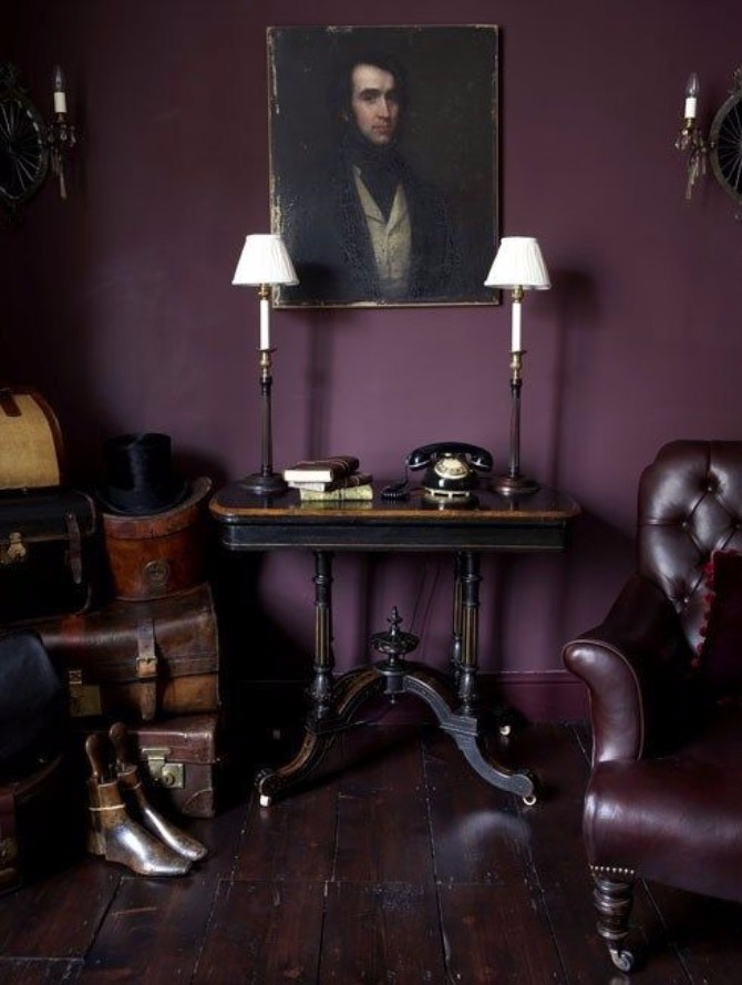 purple rooms 10 Vibrant Purple Rooms with Console Tables Vibrant Purple Rooms with Console Tables3