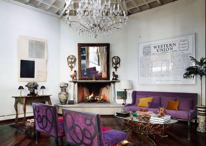 purple rooms 10 Vibrant Purple Rooms with Console Tables Vibrant Purple Rooms with Console Tables6