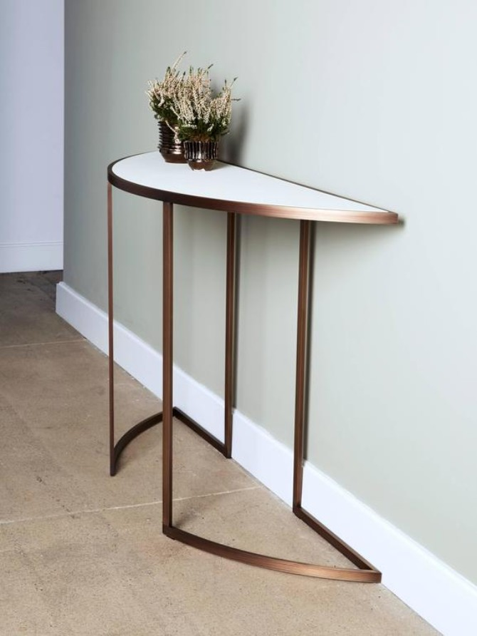 half moon console Wonderful Half Moon Console Tables You Need To See Wonderful Half Moon Consoles You Need To See7