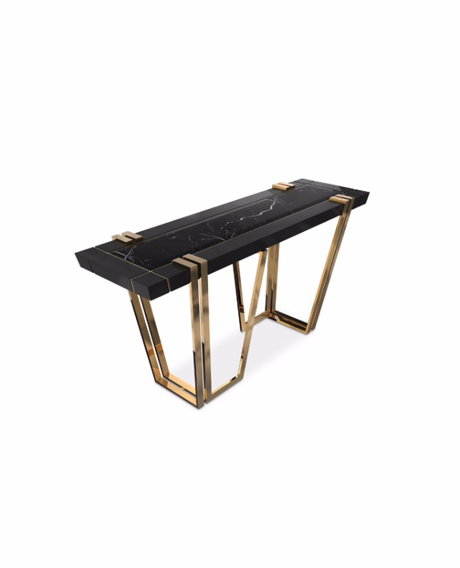 black console table Most Beautiful Black Console Tables You Can Find apotheosis