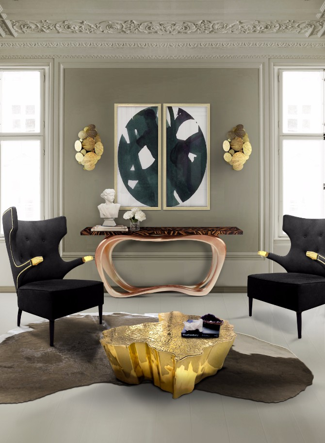 luxury home interiors The Most Expensive Consoles for Luxury Home Interiors infinity boca do lobo