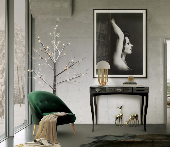 black console table Most Beautiful Black Console Tables You Can Find soho black