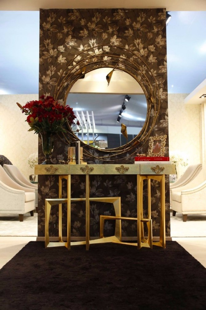 luxury home interiors luxury home interiors The Most Expensive Consoles for Luxury Home Interiors trinity boca do lobo