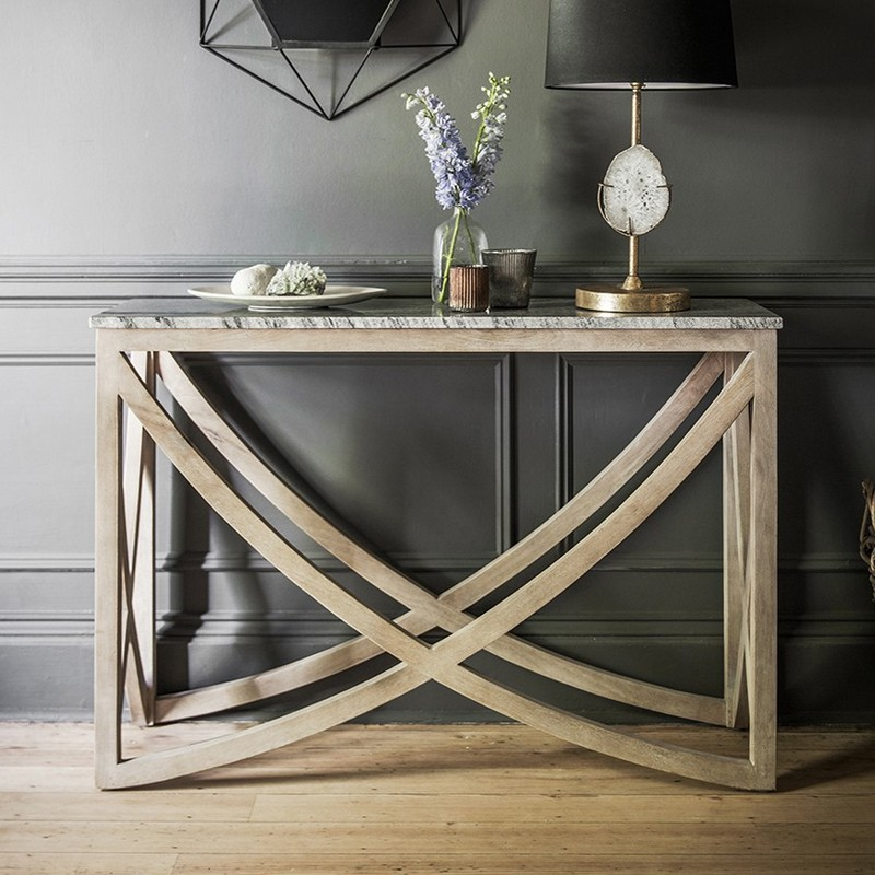 stone console Amazing Console Tables with a Stone Top Amazing Console Tables with Stone Top