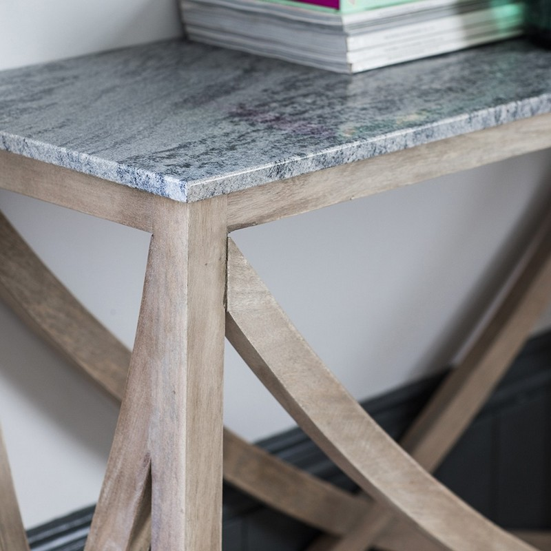 stone console Amazing Console Tables with a Stone Top Amazing Console Tables with Stone Top1