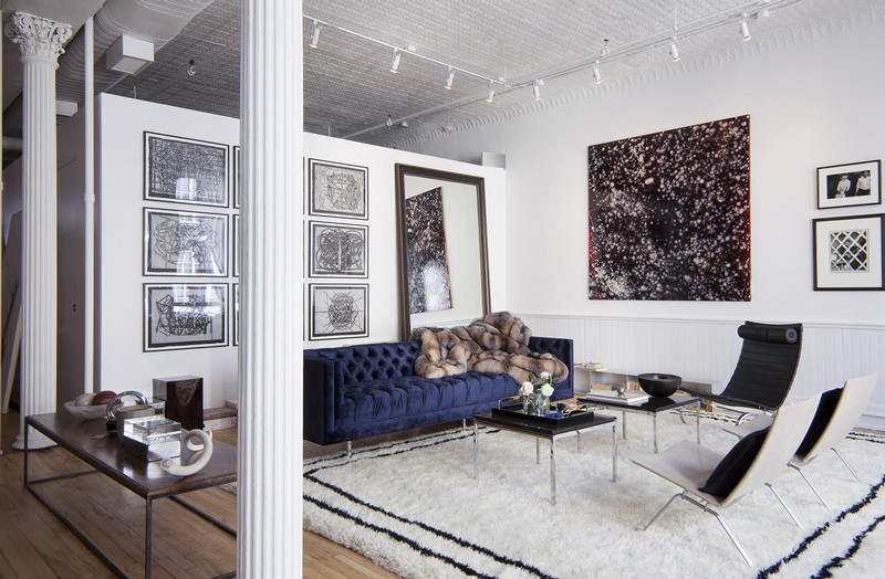 Living Room Design inspiration: Black and White Living Room Design inspiration Black and White Living Room13