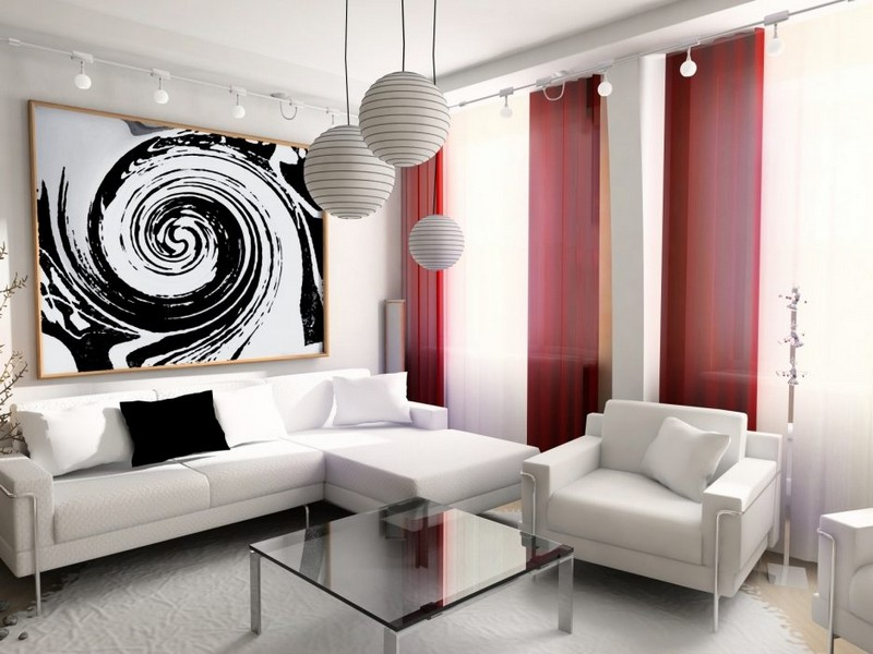 Living Room Design inspiration: Black and White Living Room Design inspiration Black and White Living Room14