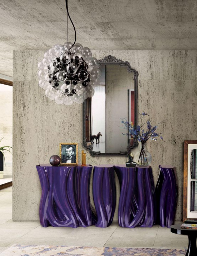 purple console tables Discover Modern Purple Console Tables Discover Modern Purple Console Tables