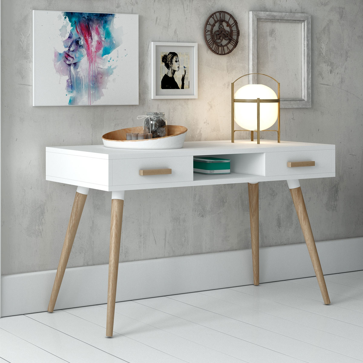 Interior Design Inspirations: Interior Design Inspiration: Scandinavian Console Tables